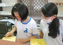 学生による職場体験