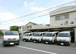 春日井・名古屋・小牧のお客様へお弁当・給食を配達に向かいます。