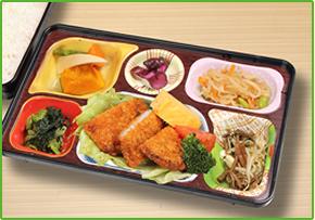 企業向けお弁当:春日井の日東給食今月の献立